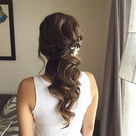 Wedding Hairstyles Hair Out by This Beautiful Half Up Half Bridal Hairstyle