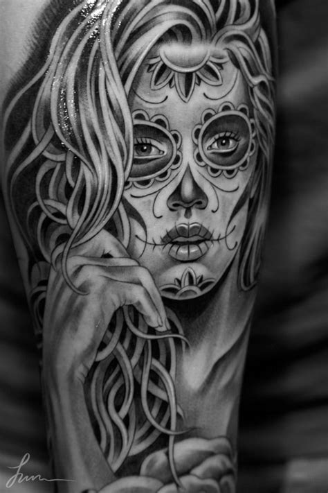 catrinas tattoo best 25 tatuagem catrina ideas on tatuagens