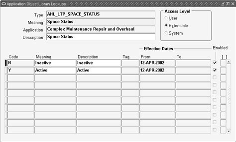 manufacturing route card template oracle complex maintenance repair and overhaul