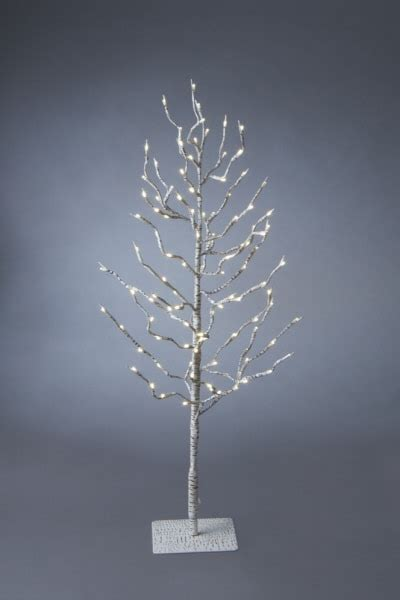 light weight christmas trees lighted led birch artificial tree 36 quot midwest cbk