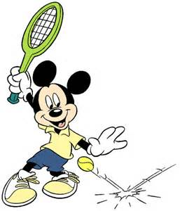 disney tennis badminton clip art images disney clip art galore