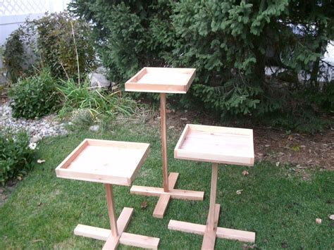 feeder stand bird feeder stand plans birdcage design ideas