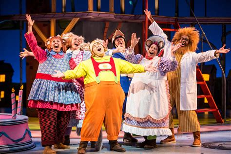 children s musicals busytown the musical at children s theatre company meets broadway