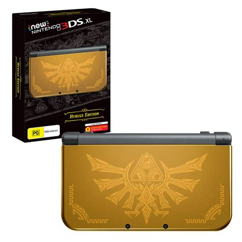 nintendo 3ds xl console new nintendo 3ds xl console hyrule edition the gamesmen