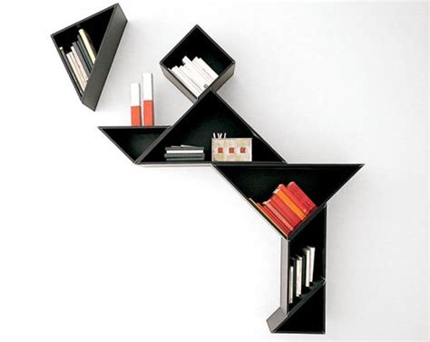 Creative Bookshelves by 60 Creative Bookshelf Ideas Art And Design