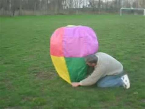 How To Make An Air Balloon Out Of Paper - tissue paper air balloon
