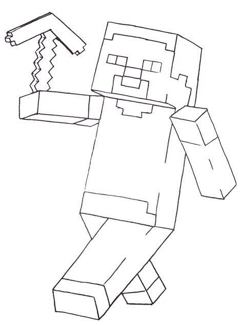 mine craft coloring pages free printable coloring pages for boys including