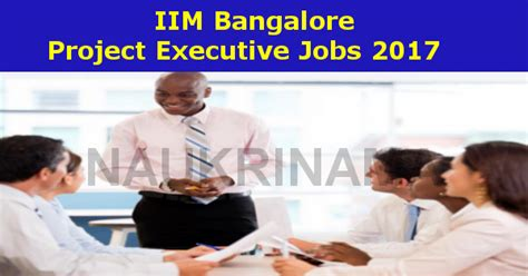 Executive Mba In Project Management Bangalore by Iim Bangalore Project Executive 2017