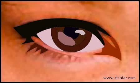 tutorial gambar mata realis menggambar wajah menjadi kartun dari coreldraw ahmadi darma