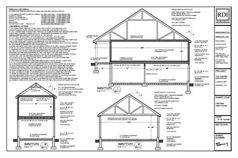 drawing cross sections cross section house drawing quotes home building plans