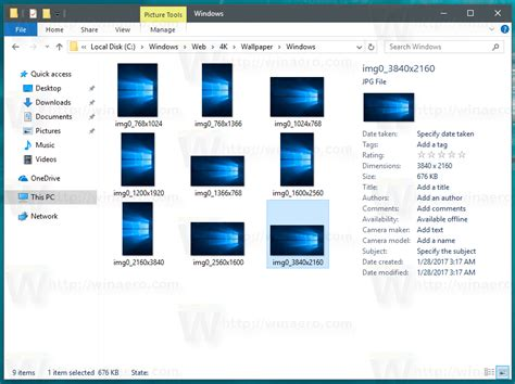 windows  default wallpapers stored