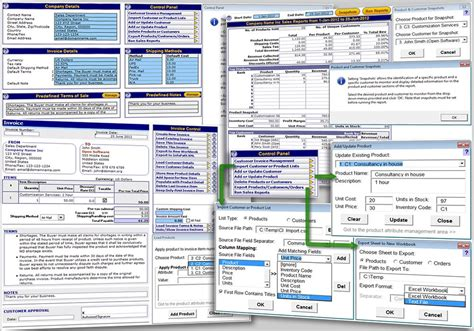 excel electrical template software