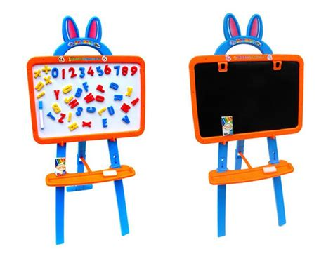 Learning Easel 3 In 1 Pink product dimension 47 6 x 40 6 x 6 6cm