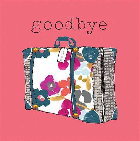 how to make goodbye cards goodbye card