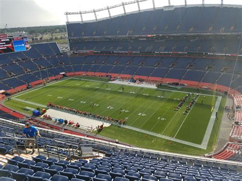 section viii athletics sports authority field section 529 rateyourseats com