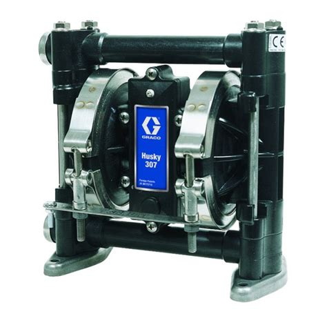 Husky Part D Detox Center by D31331 Graco Husky 307 Plastic Air Operated
