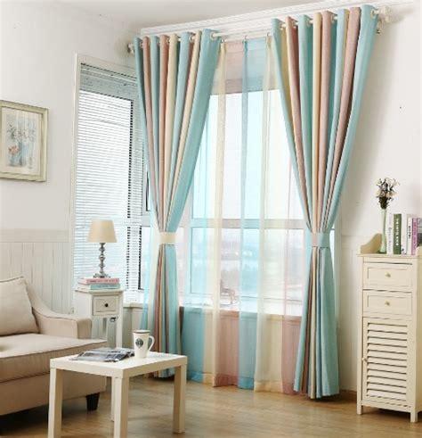 colores de cortinas ideas de cortinas rayas colores deco de interiores