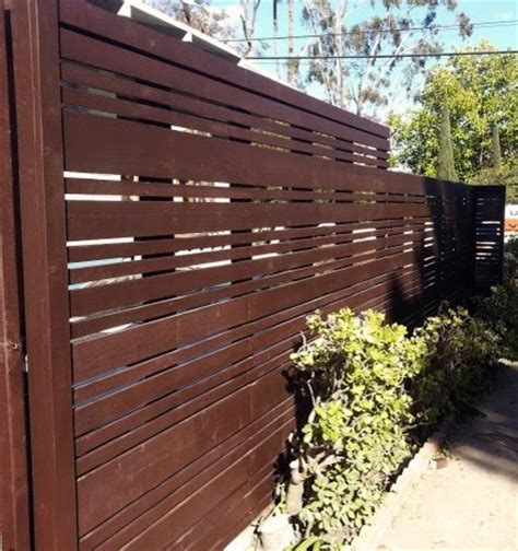 modern fences contemporary exterior los angeles by