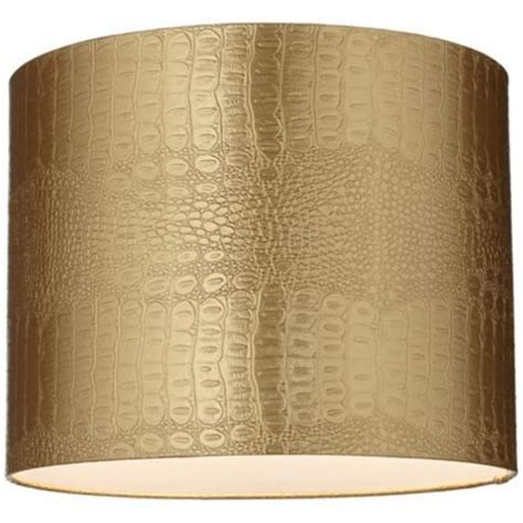 spider drum l shade great source for lshades gold reptile embossed drum