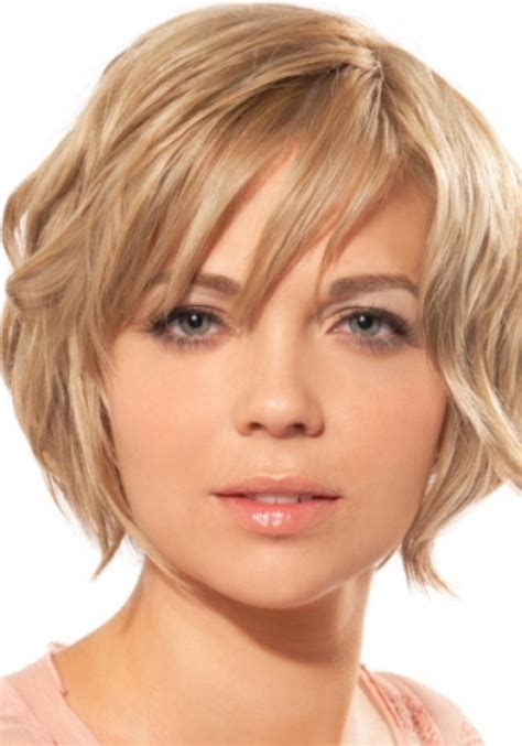 Different Haircuts For Round Face | short hairstyles for round faces beautiful hairstyles