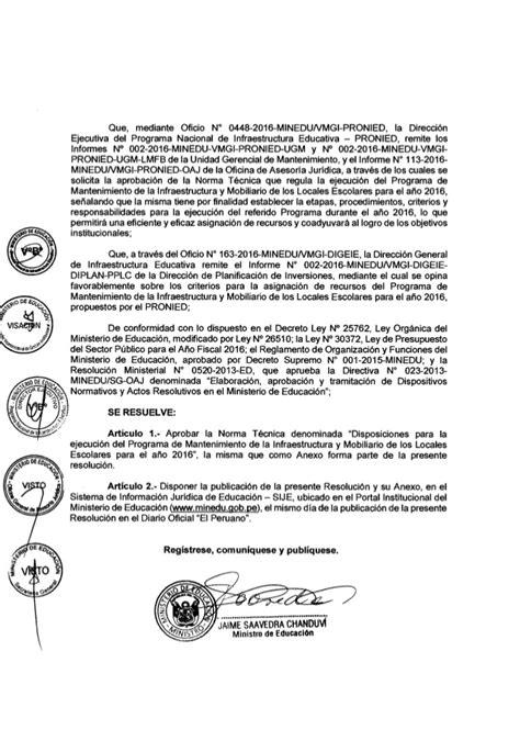 norma tcnica para mantenimiento de locales escolares 2016 rm n 176 053 2016 minedu norma de mantenimiento de la