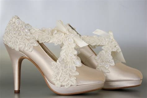 Chagne Wedding Shoes by Platform Bridal Sneakers 28 Images Fish Platform