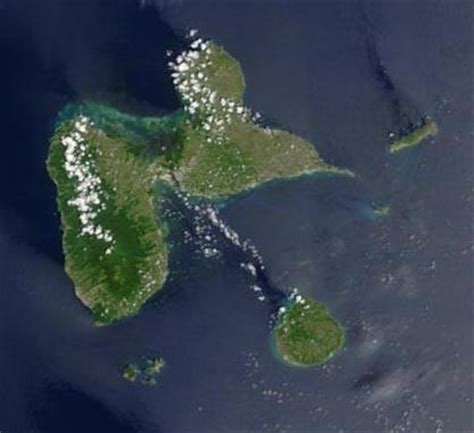 imagenes satelitales de francia mapa satelital foto imagen satelite de guadalupe francia