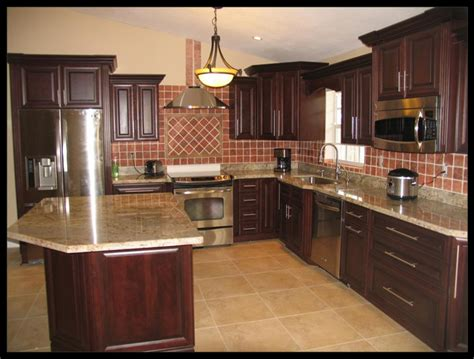 Wood Cabinets With Black Appliances by Keep It In A Cool Place Kitchen Cabinets Today