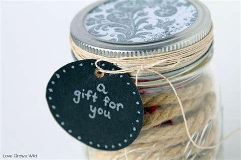 Gift Card Mason Jar - 5 fun mason jar gift ideas love grows wild