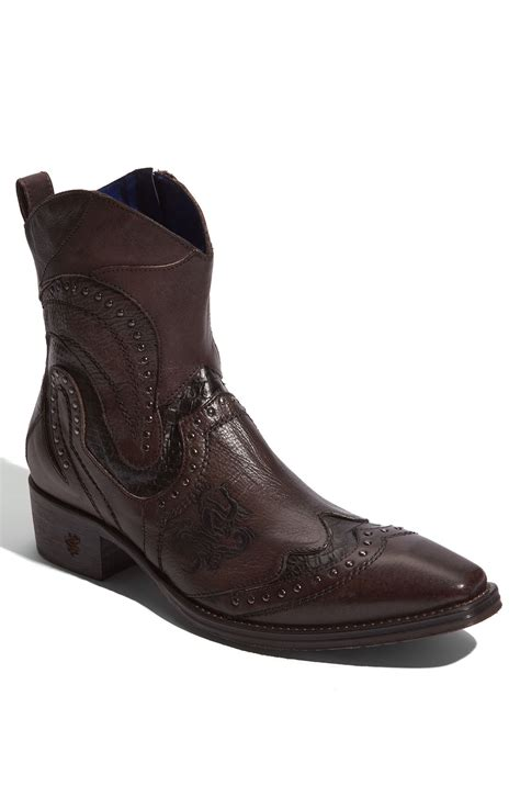 nason boots nason percy boot in brown for brown lyst