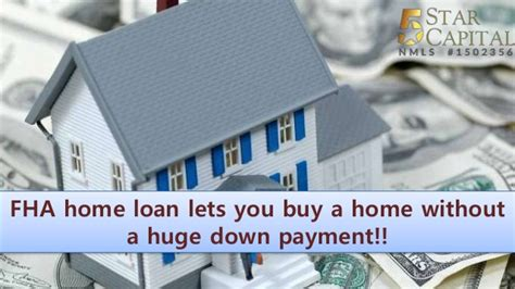how to buy a house without a loan fha home loan lets you buy a home without a huge down payment