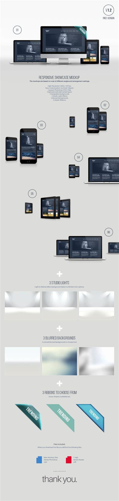 web design showcase mockup responsive showcase device mockup theme raid