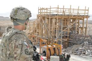 Southern Style Homes progress at afghan national army construction site in