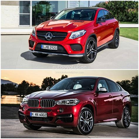 2015 BMW X6 vs Mercedes Benz GLE Coupe: the Battle of the