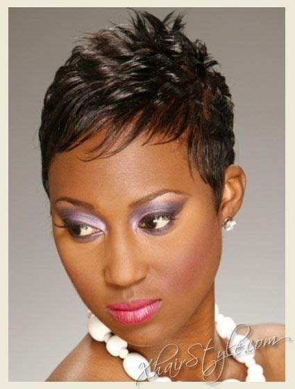 Shortcuts For Black Women With Thin Hair | short haircuts for black women with thin hair very going
