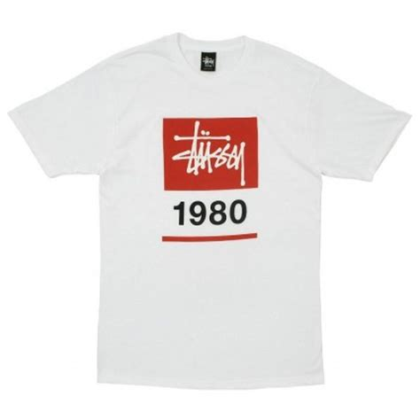 Kaos Stussy Box Blue Premium stussy stock box 1980 t shirt of the week
