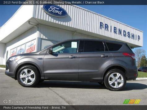 2013 ford escape gray sterling gray metallic 2013 ford escape se 1 6l ecoboost