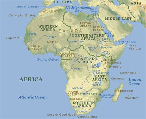 africa map nile river nile facts and information for