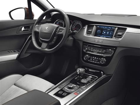 peugeot 508 interior 2012 hybrid peugeot 508 rxh available in 2012