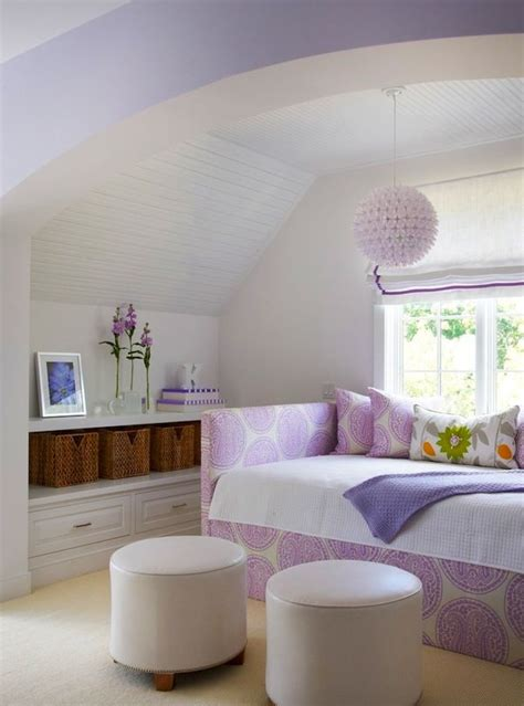teen bedroom design ideas with purple color and curtains teen girl purple room purple monochromatic color scheme