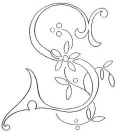 monogram for embroidery letter s needlenthread