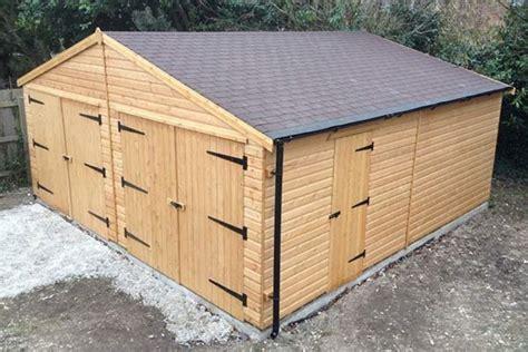 Wooden Sheds Garages by Wooden Garages Somerset