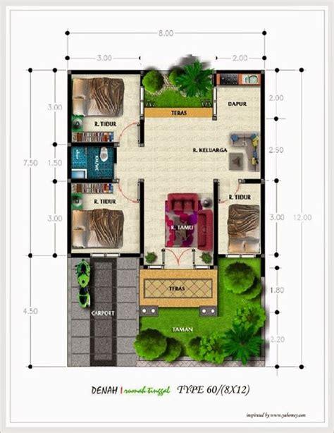 desain rumah tingkat minimalis 2 lantai type 60 36 45 desain denah rumah minimalis tipe 60 anderson