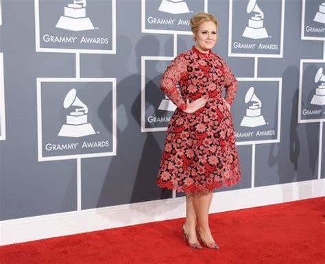 adele grammys dress 2013 see the singer s red carpet look grammy awards 2013 red carpet arrivals the grammys