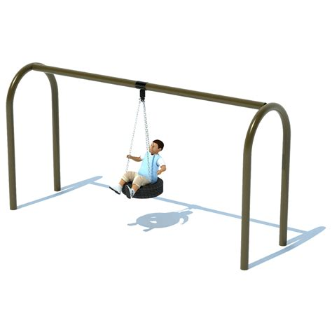 tire swing frame 1 bay 8 arch 5 quot tire swing frame swing sets
