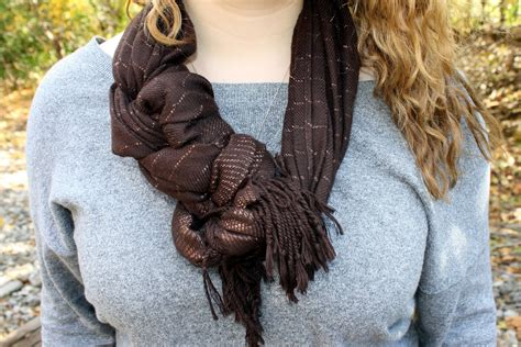 sew much to say 3 ways to tie a scarf
