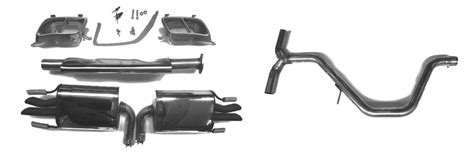 290002000 saab hirsch 9 5 ng exhaust for turbo4 and