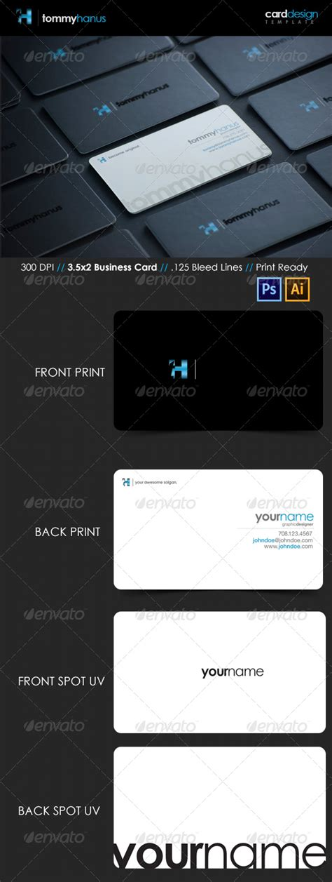 spot uv business card template 15 premium business card templates in photoshop