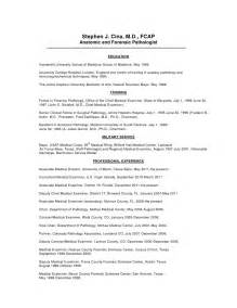 Coroner Investigator Sle Resume by Cv Of Dr Stephen J Cina Cook County Examiner