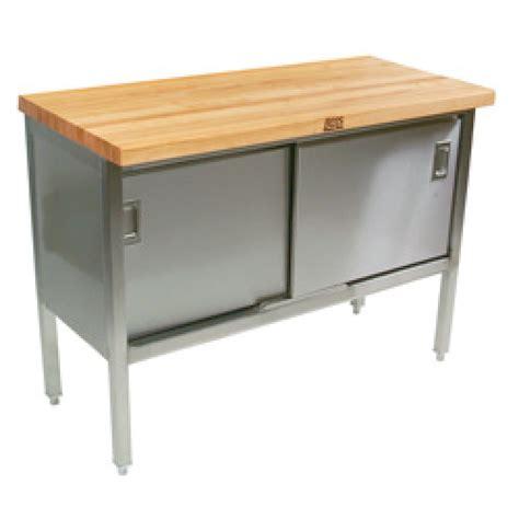 Cabinet Boos by Boos Etns01 48 Quot X 24 Quot Butcher Block Storage Cabinet
